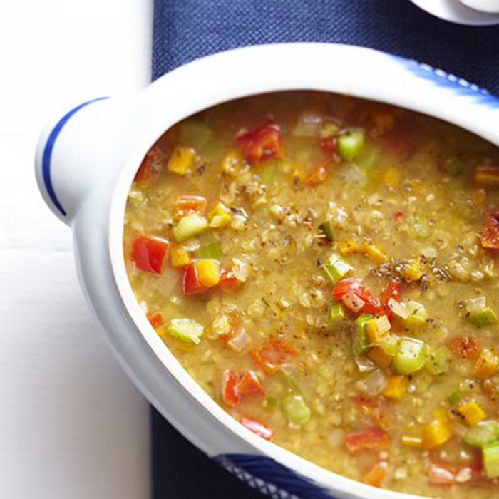 <h4>Mexican lentil soup</h4>