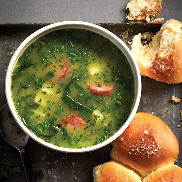 <h4>Portuguese caldo verde</h4>