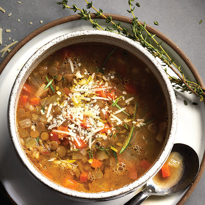 <h4>Italian-style lentil soup</h4>
