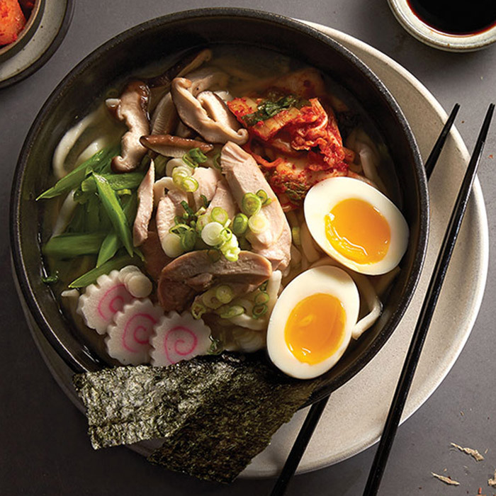 <h4>Udon noodle soup</h4>