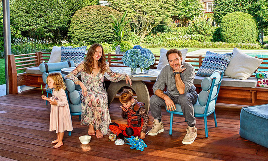 <p>Robert Downey Jr and his wife Susan star in the new issue of Architectural Digest.</p>