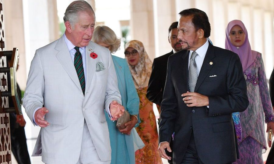 Majesty Hassanal Bolkiah, The Sultan of Brunei welcomed Prince Charles and Camilla to his official residence, the Istana Nurul Iman. The Sultan and his wife, Raja Isteri, also hosted afternoon tea for the visiting royals. 