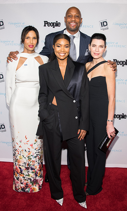<p>Actors Padma Lakshmi, Gabrielle Union, Julianna Margulies and former basketball player Alonzo Mourning arrived at the 2017 Inspire A Difference Honors event on Nov 2. All were honoured for their activism as they represented their respective charities at the star-studded event.