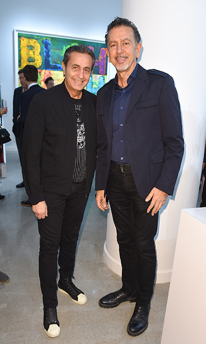 <p>Galerie de Bellefeuille Toronto Opening</p><p> Danny Soberano and Charles Khabouth</p><p>Photo: &copy; Ernesto Di Stefano/George Pimentel Photography </p>