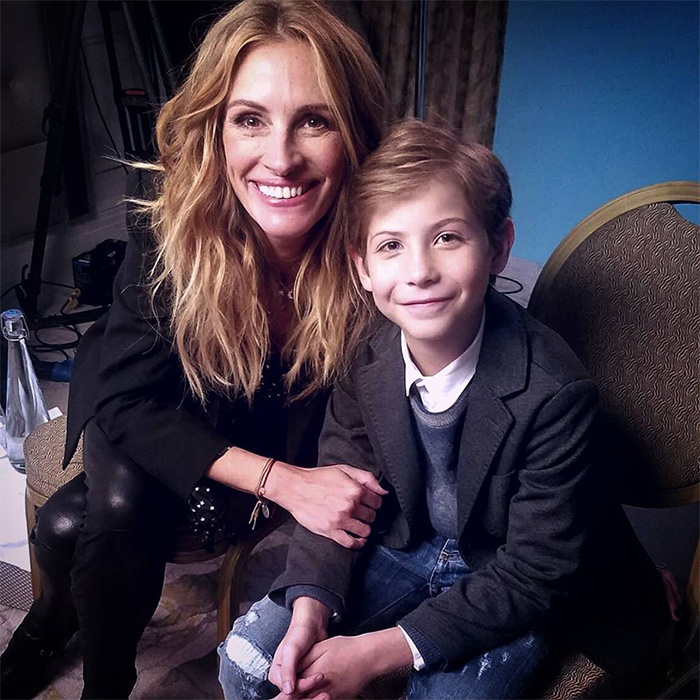 "<p>""This fan wanted a selfie with me,"" the 11-year-old captioned his snapshot with Hollywood veteran Julia Roberts.