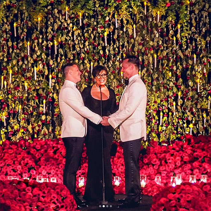 <p>At the end of October, famous momager Kris Jenner married the beautiful couple actor Colton Haynes and writer Jeff Leatham. 