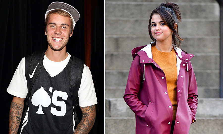 <h2>Justin Bieber and Selena Gomez</h2>