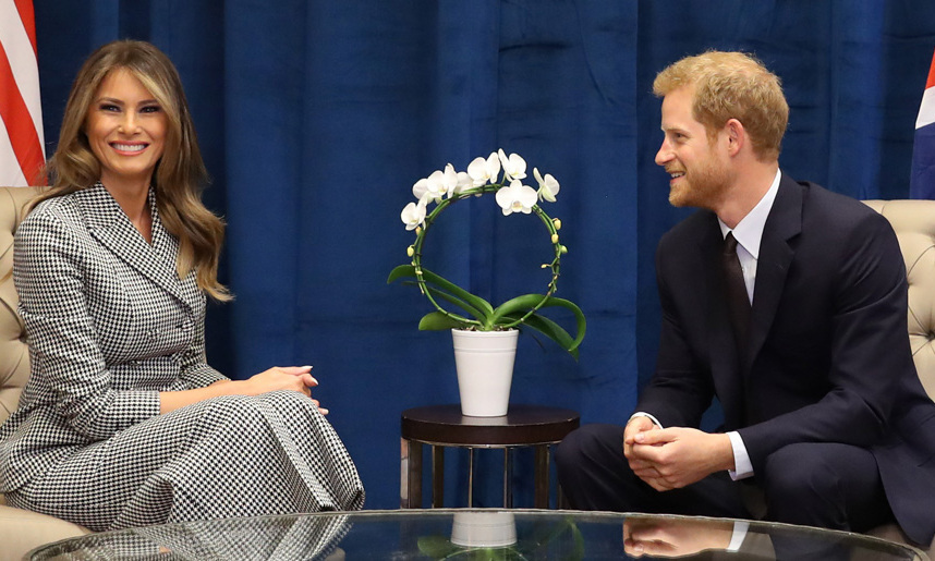 "<p><strong>MELANIA TRUMP AND PRINCE HARRY</strong> When Harry met Melania! During her first solo foreign trip since becoming America's first lady, President Donald Trump's wife sat down for a royal meeting with Prince Harry in September 2017 ahead of the 2017 Invictus Games Toronto opening ceremony. ""It was an introductory meeting,"" Stephanie Grisham, the first lady's communications director, told <strong>HELLO!</strong>. ""They spoke at length about the success of the Invictus Games and the men and women who serve their countries."" </p>