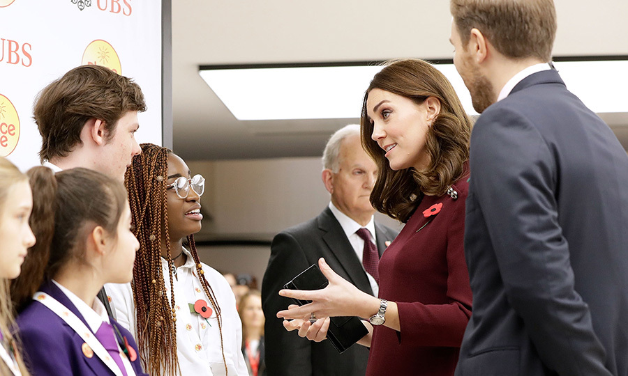 <p>The Duchess of Cambridge attended the Place2Be forum.</p>