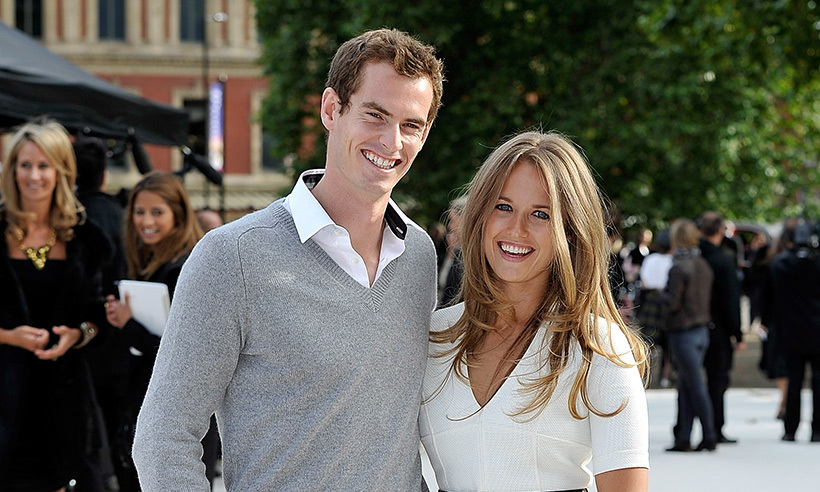 <h2>Andy Murray and Kim Sears</h2>