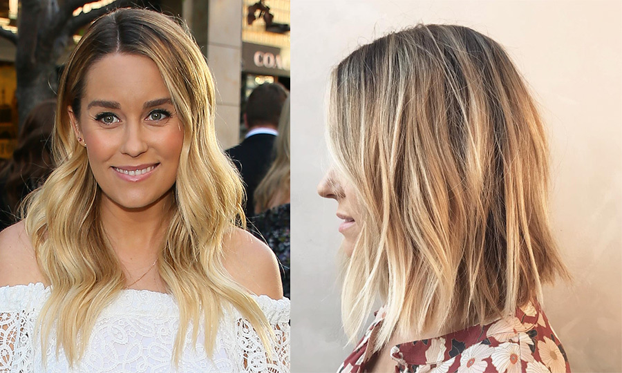 <p>Designer and former reality star Lauren Conrad debuted a new look for autumn! Taking her blond locks a few inches shorter, the 31-year-old looks fresh and ready for winter!