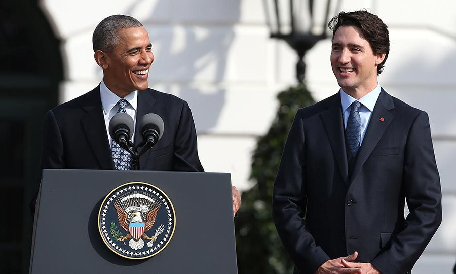 <p>Former president of United States Barack Obama formed a special bond with the PM during his time in office. The two have been seen sharing smiles and laughs every time they meet. Back in March 2016, Barack even invited the entire Trudeau family to the White House.