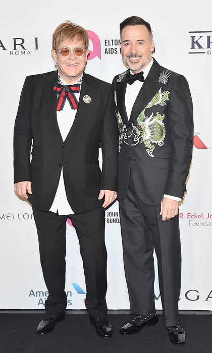 "<p>The Elton John AIDS Foundation celebrated its 25th year at its annual gala on November 7. A number of stars including Sting, Billy Joel, Hilaria Baldwin, Glenn Close and more came out to pay tribute to the foundation's famous founder for his philanthropic endeavors and humanitarian work. ""I'm not very good at receiving awards. There's still so much work to be done. Give me an award when it's all over. It's very nice. I'm very proud of the foundation. I'm very proud of what we've achieved,"" Elton John said. ""Hopefully in another ten years this will be over. We have the medicine to make this disease go away, we just have to make the stigma go away and pull people together as a human entity.""<br /><br />Photo: Theo Wargo/Getty Images</p>"