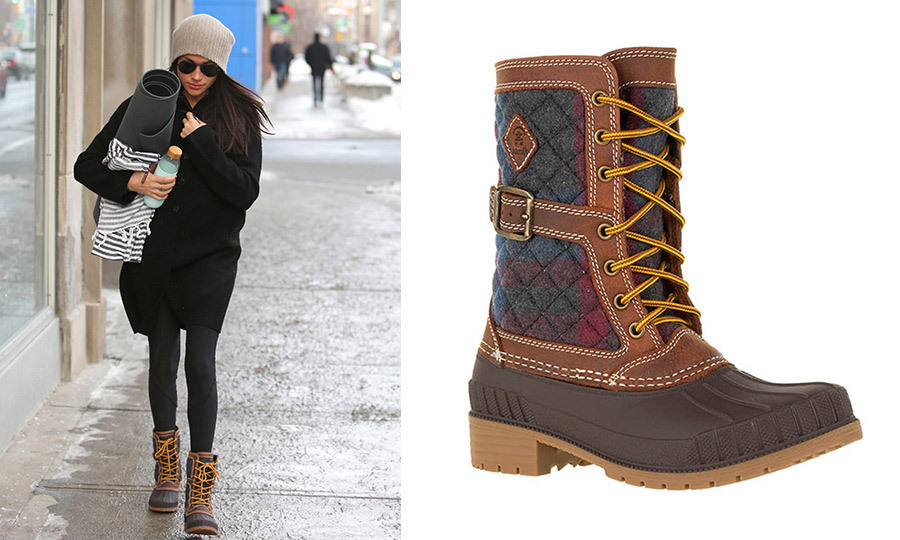 Get The Look Meghan Markles Super cute Winter Boots