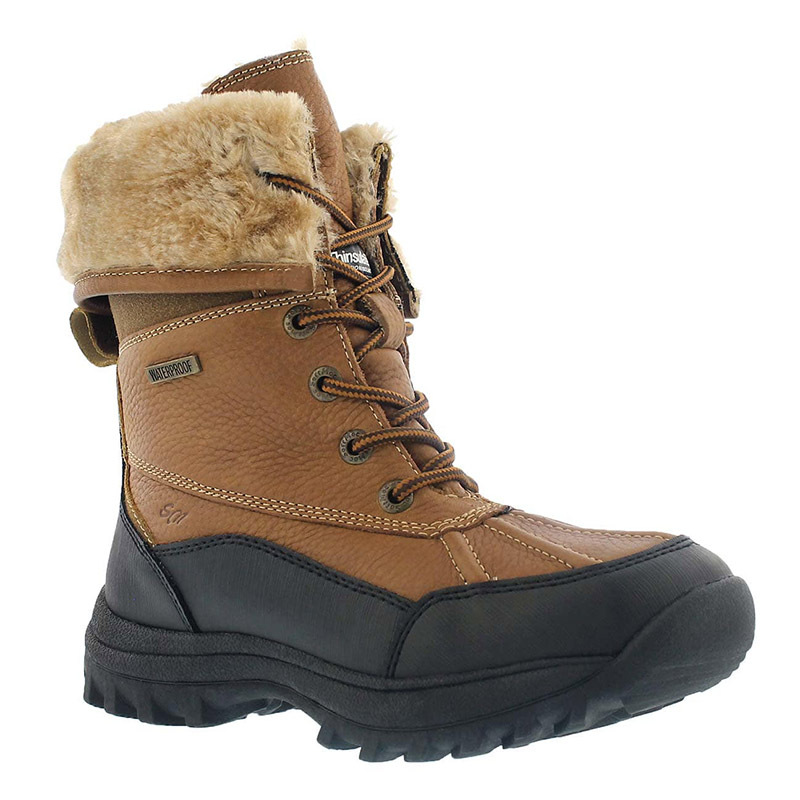 "<p>Shakria Boots, $110, <a href=""https://www.softmoc.com/ca/womens/softmoc/winter-boots/snow-boots/shakira2-pnt/lds-shakira2-peanut-wp-foldover-cuff"">softmoc.com</a></p>"