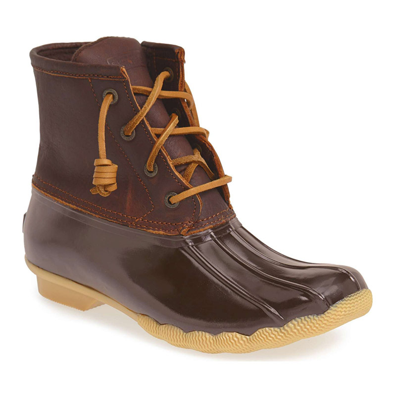 "<p>Sperry Saltwater Rain Boot, $135, <a href=""https://shop.nordstrom.com/s/sperry-saltwater-rain-boot-women/4820934?origin=leftnav&amp;cm_sp=Left%20Navigation-_-Shoes&amp;top=72&amp;color=%27Brown%27"">nordstrom.com</a></p>"