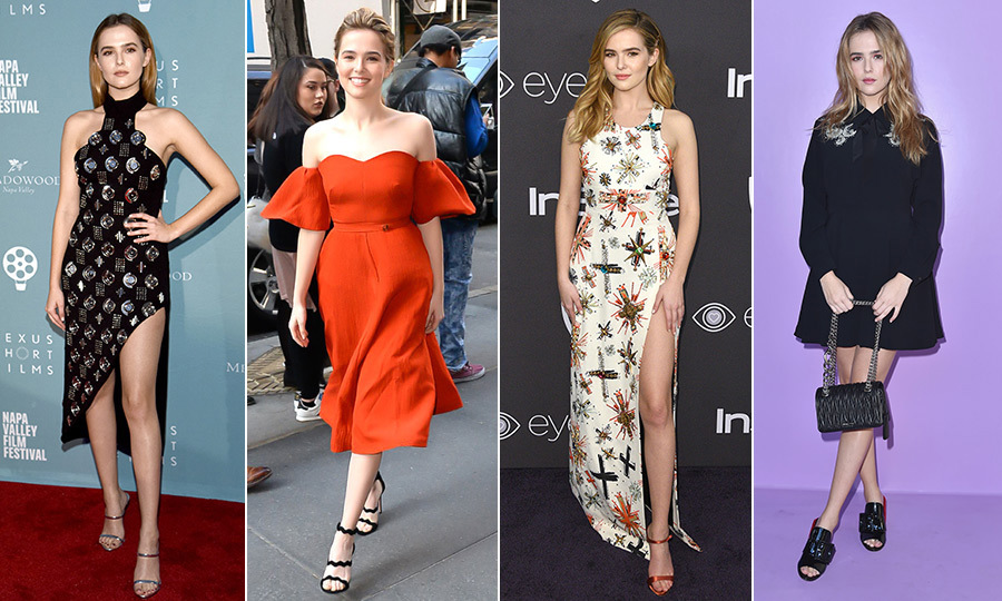 <h4>Zoey Deutch's best looks over the years</h4>