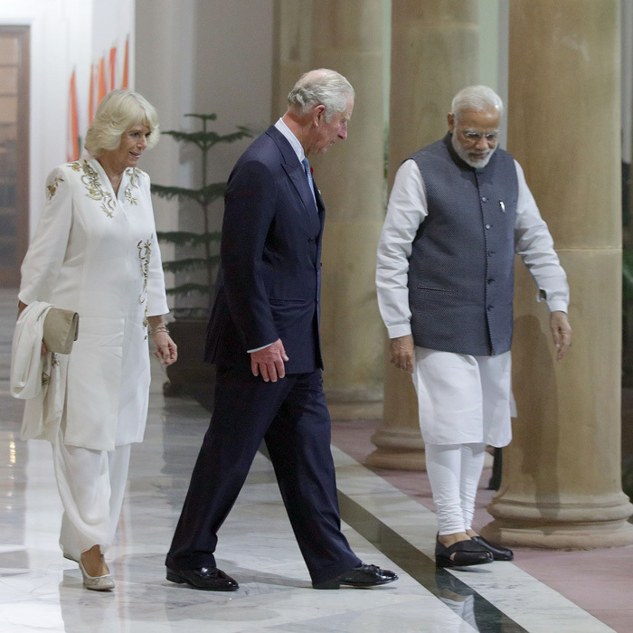 "<p>During their final day in India and on the tour, Prince Charles agreed for school children to interview him. One little girl named Pragya, 9, asked the father-of-two if he would build a fort when he was king, to which he replied, ""I will!"" <br /><br />The kids were enlightened though he then shared that there are no set plans in place. <br /><br />Photo: Getty Images</p>"
