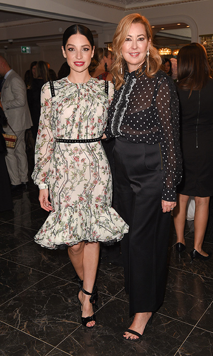 <p>Giambattista Valli at The Room</p><p> Anna Hopkins and Alison Coville, President, Hudson's Bay </p><p>Photo: &copy; George Pimentel Photography</p>