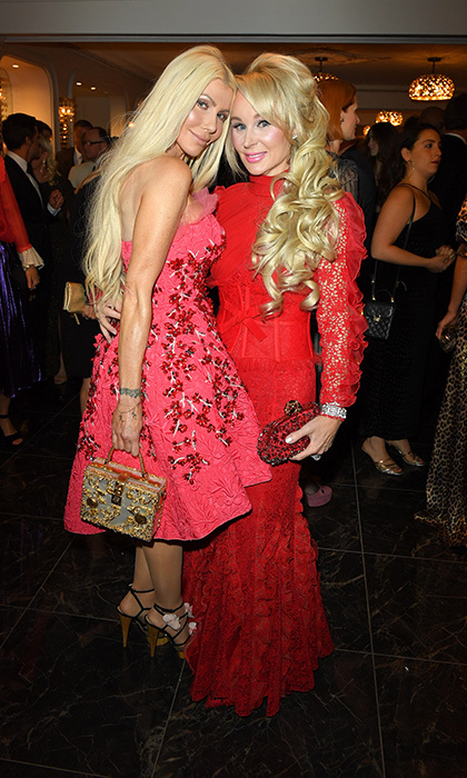 <p>Giambattista Valli at The Room</p><p>Sylvia Mantella and Suzanne Rogers</p><p>Photo: &copy; George Pimentel Photography</p>