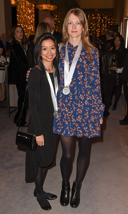 <p>Writers' Trust Gala</p><p>Nicole Chin and Allison La Sorda</p><p>Photo: &copy; George Pimentel Photography</p>