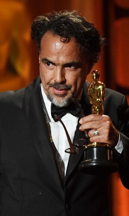 "<p>Alejandro González Iñárritu received a Special Award Oscar at the November ceremony, a prize that is rarely given out. The Academy's committee decided to recognize Alejandro's newest venture CARNE Y ARENA (translation: Meat and Sand), which premiered at the 2017 Cannes festival. Aiming to throw ""viewers into the harsh life of an immigrant,"" the project is a virtual reality installation at LACMA. The 54-year-old Mexican film director and screenwriter gave a moving speech upon his acceptance of the award.</p>