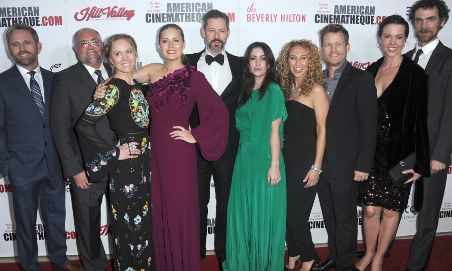 The Adams bunch! Amy Adams had the support of her entire family while being honored at the 2017 American Cinematheque Award presentation on Friday, November 10 at the Beverly Hilton Hotel. Drenched in a stunning Andrew Gn dress, the 43-year-old actress was joined by her husband Darren Le Gallo and her siblings, among other family members. 