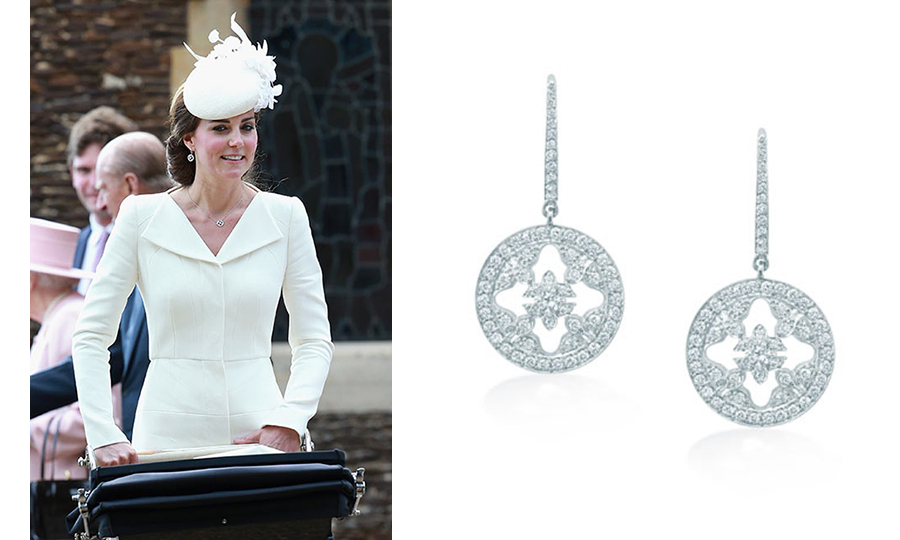 <h2>Mappin & Webb drop earrings</h2>