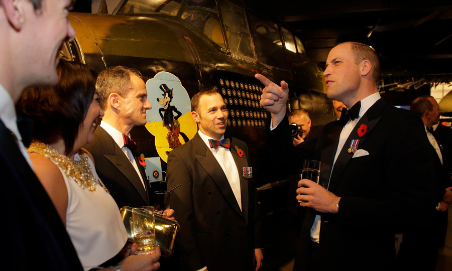 "<p>Prince William attended a fundraising black tie gala organized by the City Veterans' Network on November 9 at London's Imperial War Museum. During a pre-dinner speech, the Duke revealed that his son Prince George is jealous that he got to drive a digger during a visit to the site of a new rehabilitation center for injured military personnel. He said, ""George was very envious as I got to drive a digger.""<br /><br />Photo: Alastair Grant - WPA Pool/Getty Images</p>"