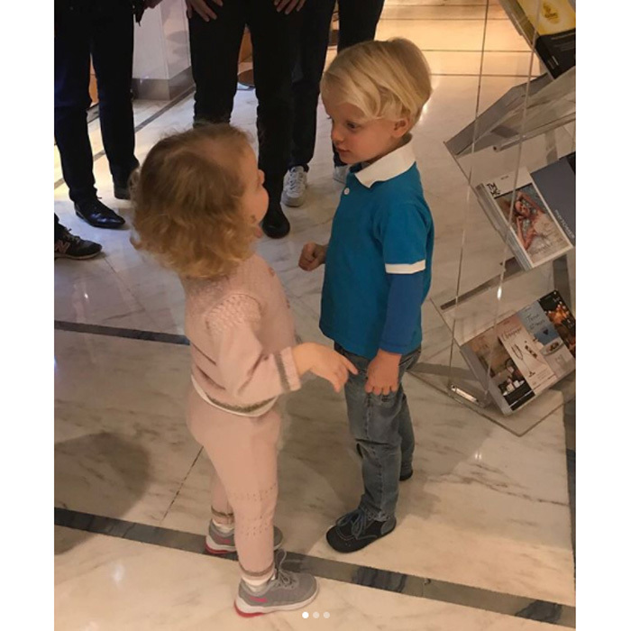 <p>November 2017: Princess Charlene and Prince Albert of Monaco's twins, Prince Jacques and Princess Gabriella, have reached an exciting new milestone together. The adorable two-year-old's recently had their first haircut! Charlene took to her personal Instagram account on Monday, November 13, to share photos she snapped of her young children and their shorter hairdos.<br /><br />Photo: HSH Princess Charlene</p>
