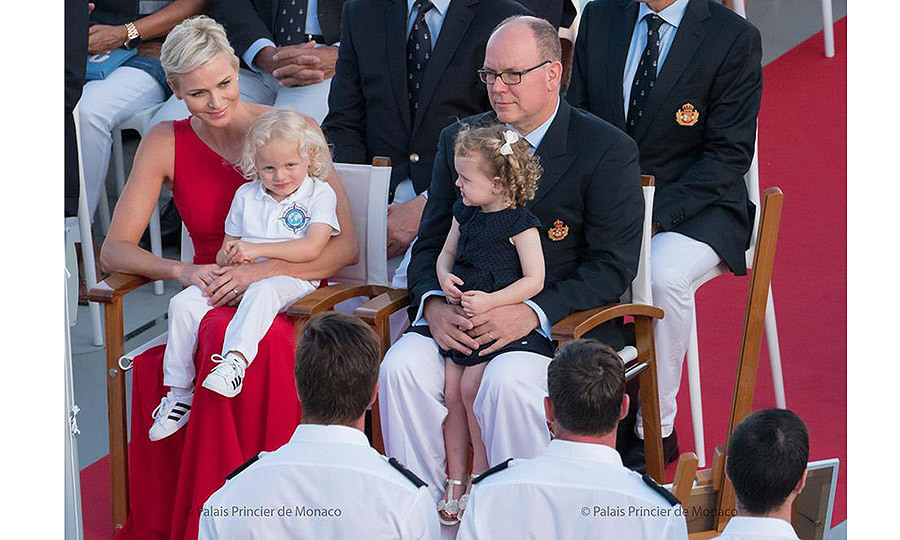 <p>July 2017: The royal twins joined Prince Albert and Princess Charlene aboard the scientifc ship <em>M/V Yersin</em> as it prepared to set off on from Monaco on a three-year scientific exploration campaign around the world.<br /><br />Photos: Facebook / © Photos: E. Mathon, G. Luci and A. Bastello / Palais Princier de Monaco</p>
