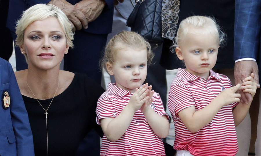 <p>Princess Gabriella (L) and Prince Jacques clapped and admired the entertainers during the picnic. The event which is thrown by the City Council of Monaco featured folk dancers, a Mass and barbecue. <br /><br />Photo: Getty Images</p>