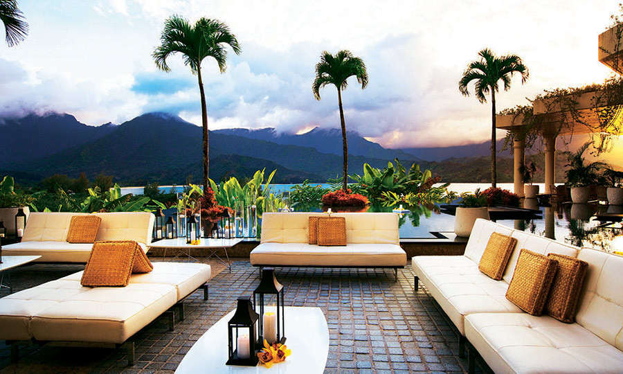 <h4>STAY</h4><p>Looking out across Makana Mountain, the St. Regis Princeville Resort is perfectly placed on Kauai's north shore. The furnishings are solid and sumptuous, with lashings of marble and walls painted in tonal colours. Beside the pool, towering palms dance in the breeze as families laze beneath citrus-hued umbrellas. You can expect a world-class golf club and outstanding service. It's worth crossing oceans for.</p>