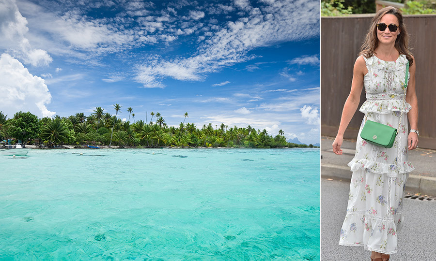 <h4>FRENCH POLYNESIA</h4><p>Escape to sky-blue waters, secluded beaches and majestic mountain views in the archetypal South Pacific island paradise.</p><br/><hr/><p><em>Pippa Middleton spent part of her honeymoon in French Polynesia.</em></p>