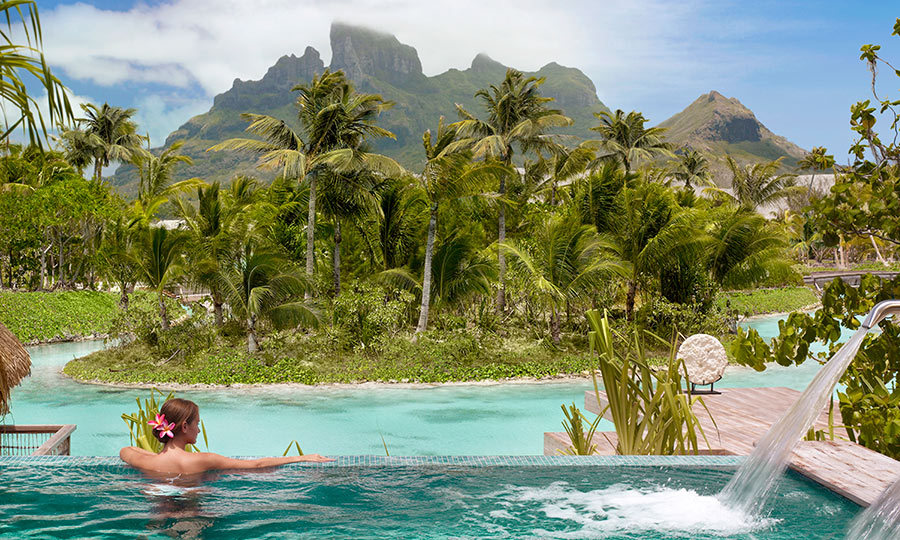 <h4>INDULGE</h4><p>Perched on the edge of the lagoon, the Spa at Four Seasons Resort Bora Bora is just the place to escape the scorching sun. Level out your chi with a balancing shiatsu bodywork session or try an acupressure-yoga class with views out across the startling turquoise waters. </p>