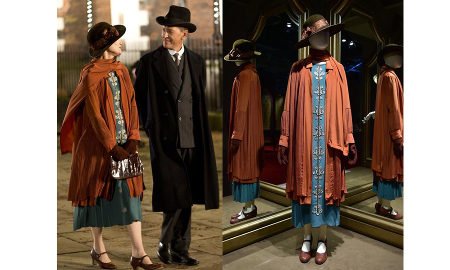 The fashion room also features some of the outfits Edith wore when she became a working woman in London. 