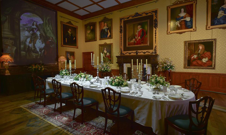 <p>The Crawley family's dining hall looks as it was taken straight from the TV screen!