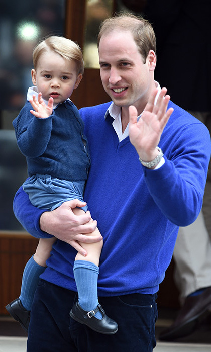Prince William has also said that George loves The Lion King. 