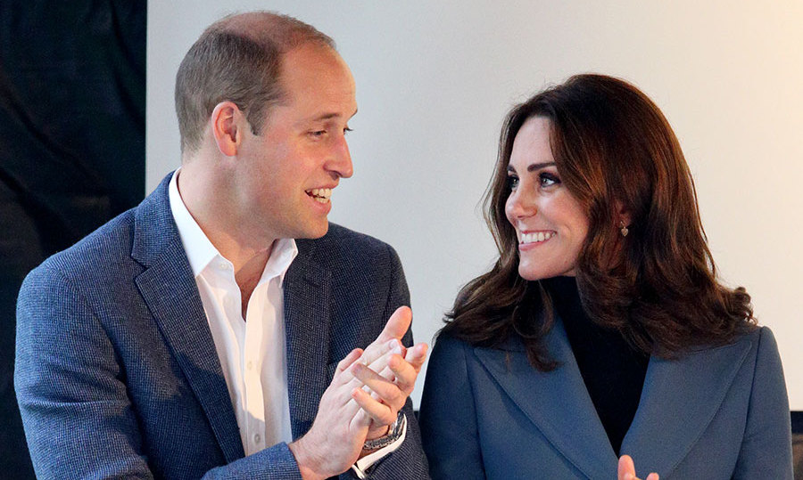 The Duke and Duchess of Cambridge at the Coach Core Graduation event in London.