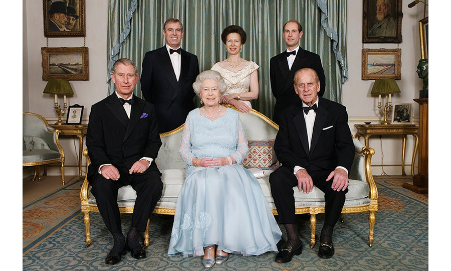 <p>The Queen and Prince Philip are joined at Clarence House by their immediate family, HRH The Prince of Wales (L), HRH Princess Anne, The Princess Royal (above C), HRH The Duke of York (TopL) and HRH The Earl of Wessex (TopR) on the occasion of a dinner hosted by Prince Charles and Camilla to celebrate the forthcoming Diamond Wedding Anniversary of the Queen and The Duke, on Sunday November 18, 2007.</p>