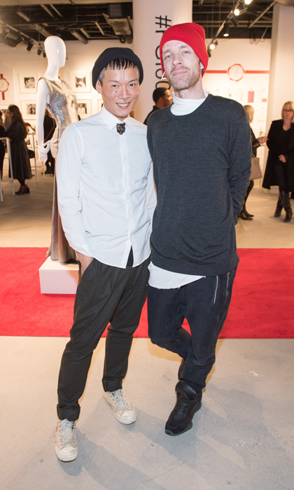 <h4>FGI 60 Years of Fashion Exhibition</h4><p>Stephen Wong and Jared Mogensen </p><p>Photo: &copy; Ryan Emberley</p>
