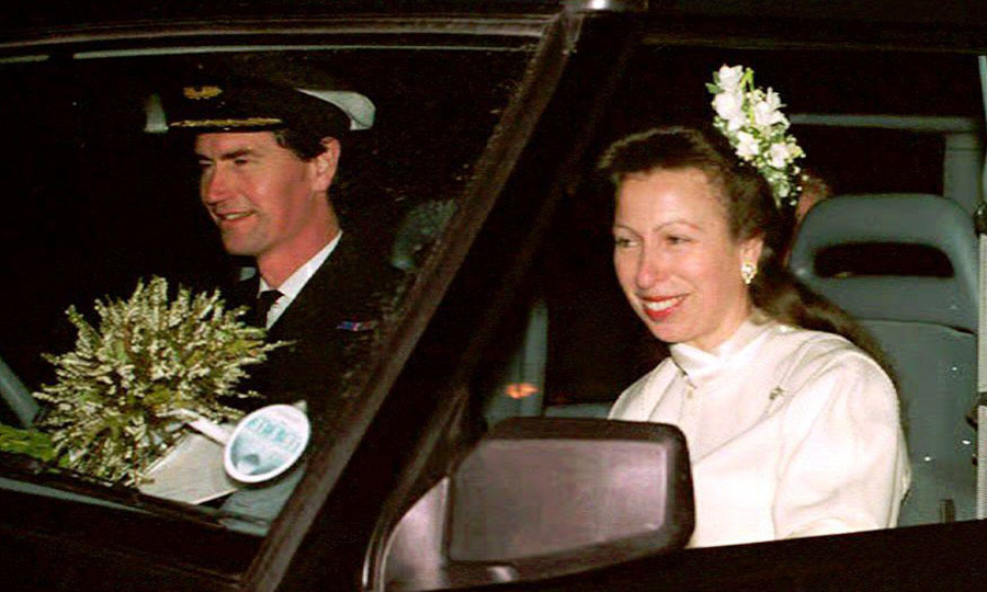 <p><strong>Princess Anne and Vice Admiral Timothy Laurence</strong></p>