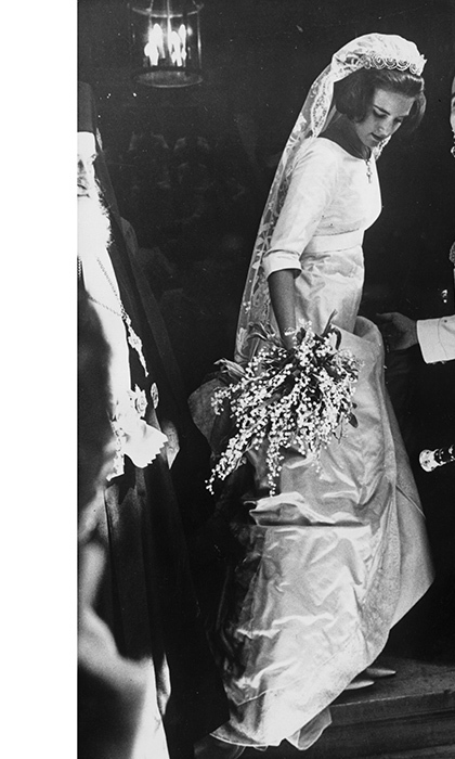 <p><strong>Ex-King Constantine and Queen Anne-Marie of Greece</strong></p>