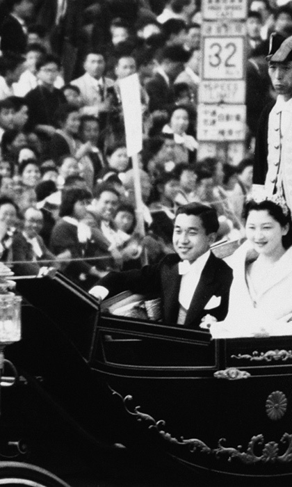 <p><strong>Emperor Akihito and Empress Michiko of Japan</strong></p>