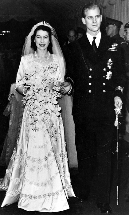 <p><strong>MARRIED 70+ YEARS</strong> <strong>Queen Elizabeth II and Prince Philip</strong></p>