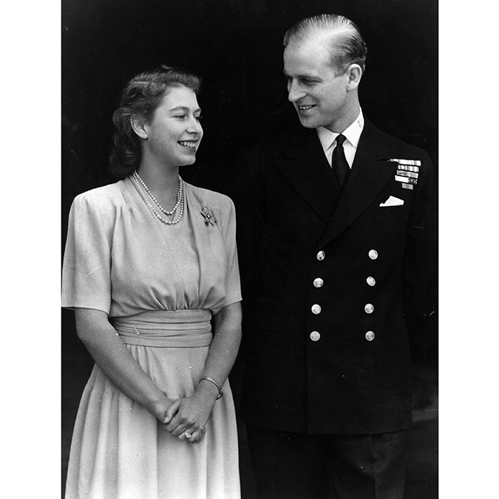 Queen Elizabeth II first met her future husband, Prince Philip of Greece and Denmark, when she was just 13 at the wedding of his cousin, Princess Marina of Greece. It was love at first sight for the young royal, and she remained besotted with the handsome 18-year-old, writing him letters throughout her teens.