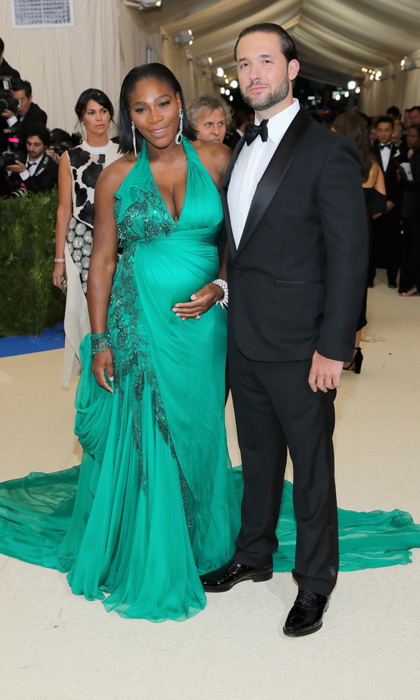 <h3>Serena Williams and Alexis Ohanian</h3>