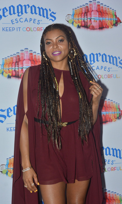 Taraji P. Henson jetted to Jamaica to have some fun in the sun. The <em>Empire</em> actress enjoyed some excursions set up by Seagram's Escapes that included snorkeling, hiking and lounging at the Jewel Dunn's Resort.