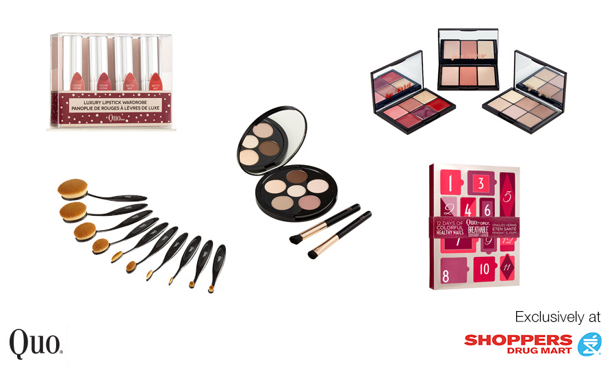 This season, skip the stress and impress makeup newbies and enthusiasts alike with swoon-worthy cosmetics from Shoppers Drug Mart. From travel- friendly favourites to pretty shadow palettes, here are the must-have products and tools that will make the beauty lovers on your list glow straight through the holidays — and beyond!