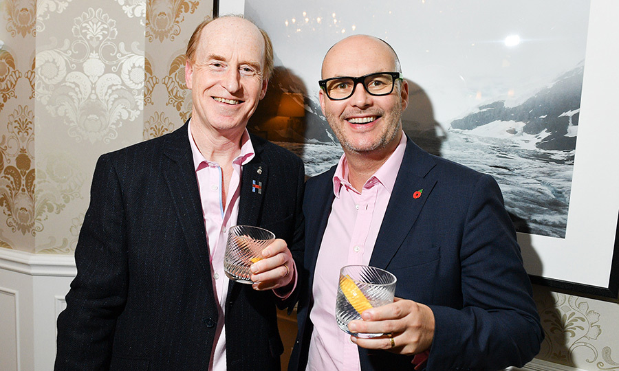 <h4>Prince's Charities Canada</h4><p>Simon Erlander and British Consul General</p><p>Photo: &copy; George Pimentel Photography</p>